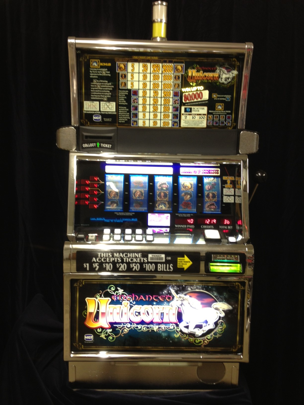 Igt enchanted unicorn slot machines casino junket representatives