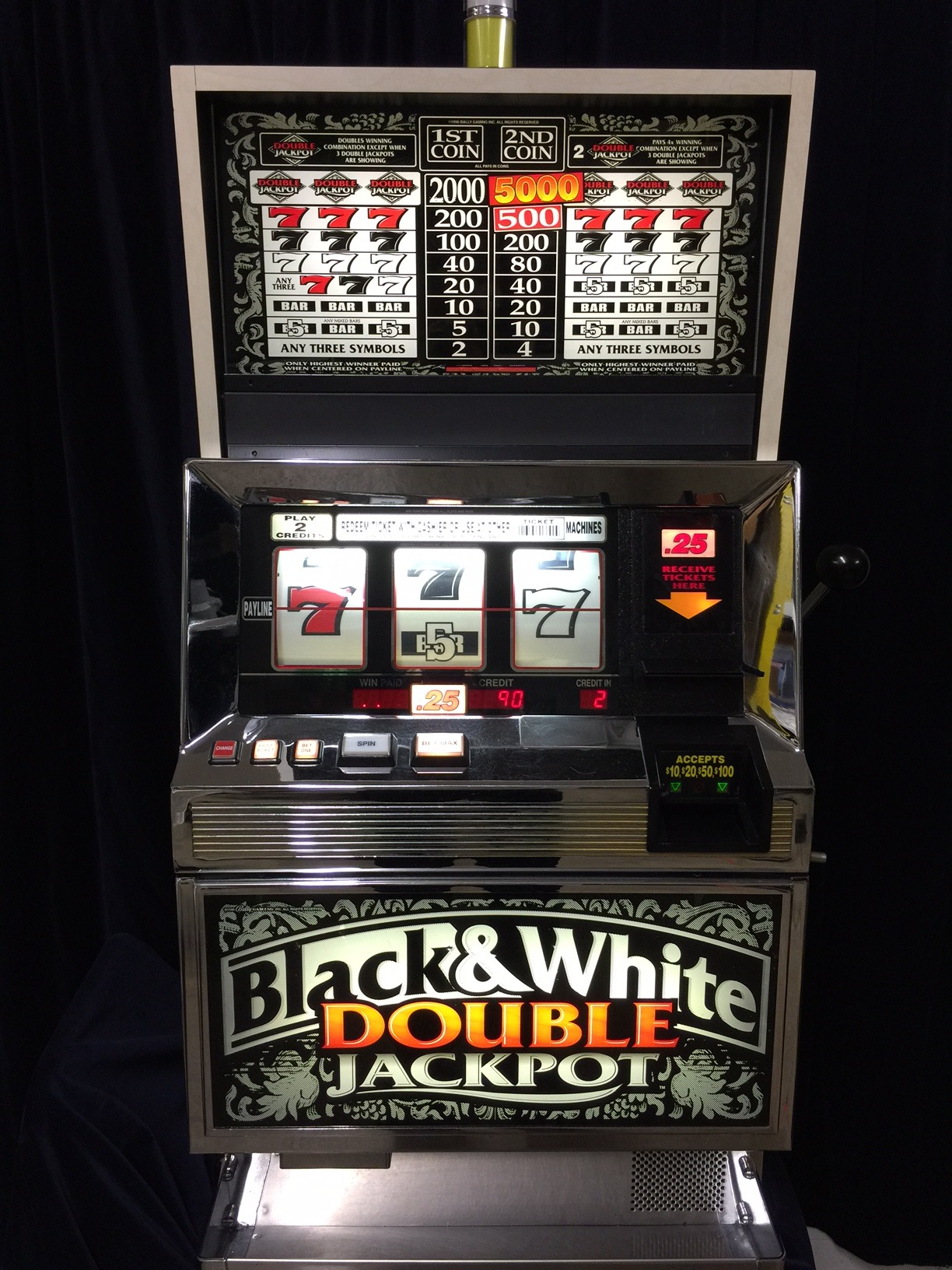 double jackpot slot machine