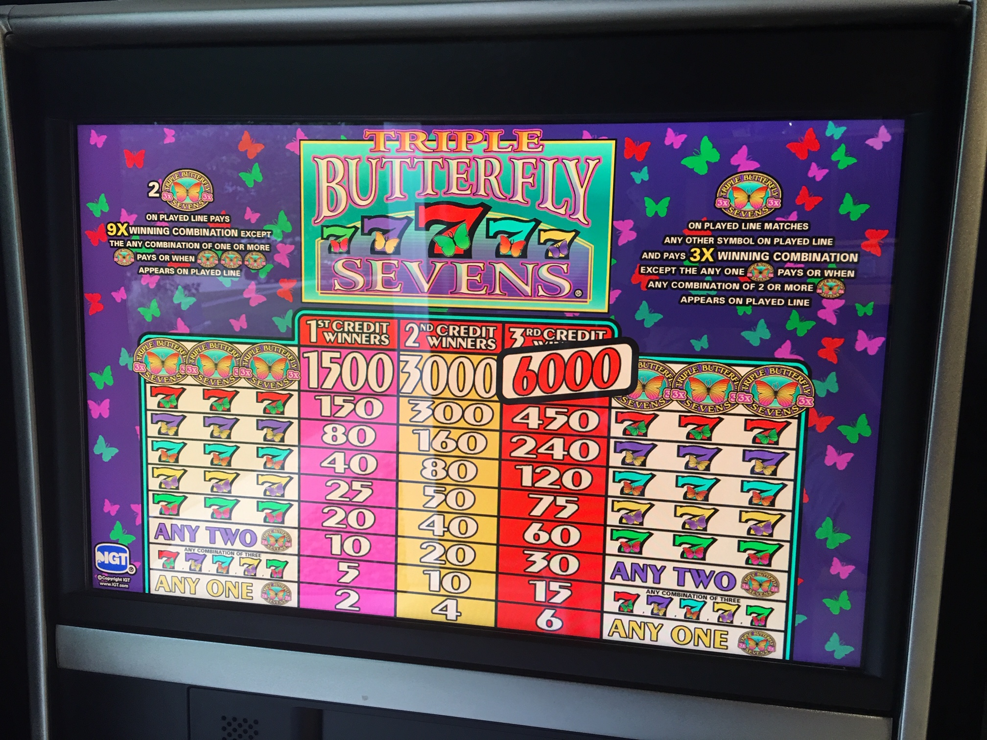 Butterfly Slot Machines