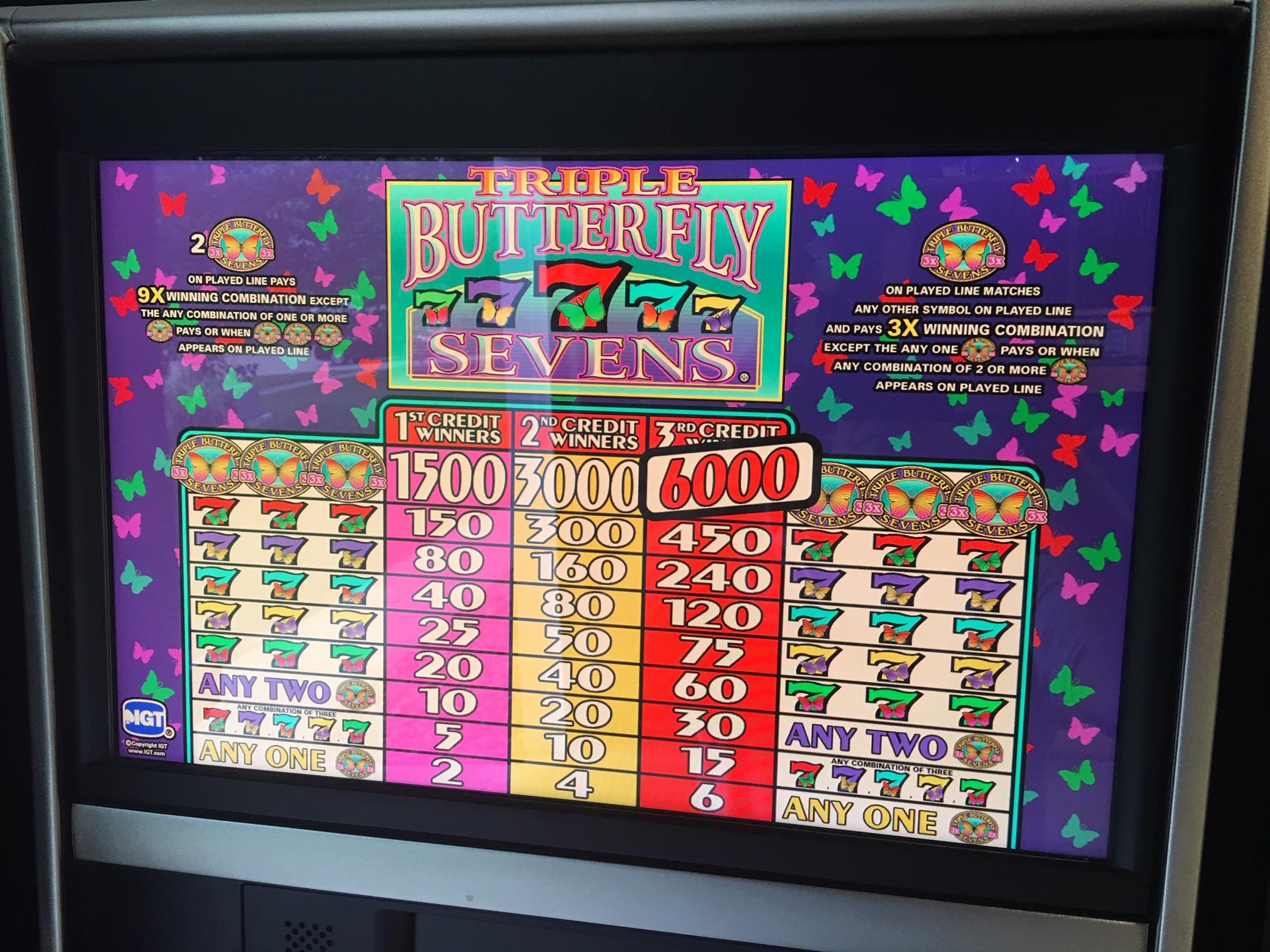 Butterflies Slot Machine