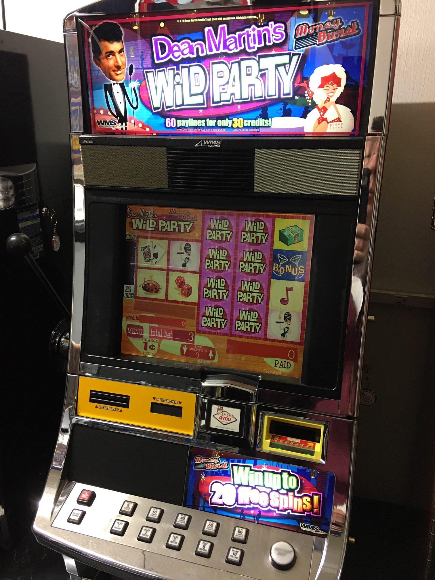 Party bonus slot machine binion s horseshoe casino