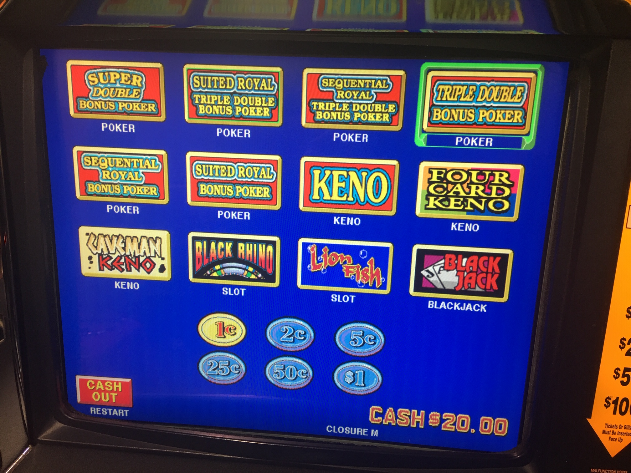 Slot Machines Keno