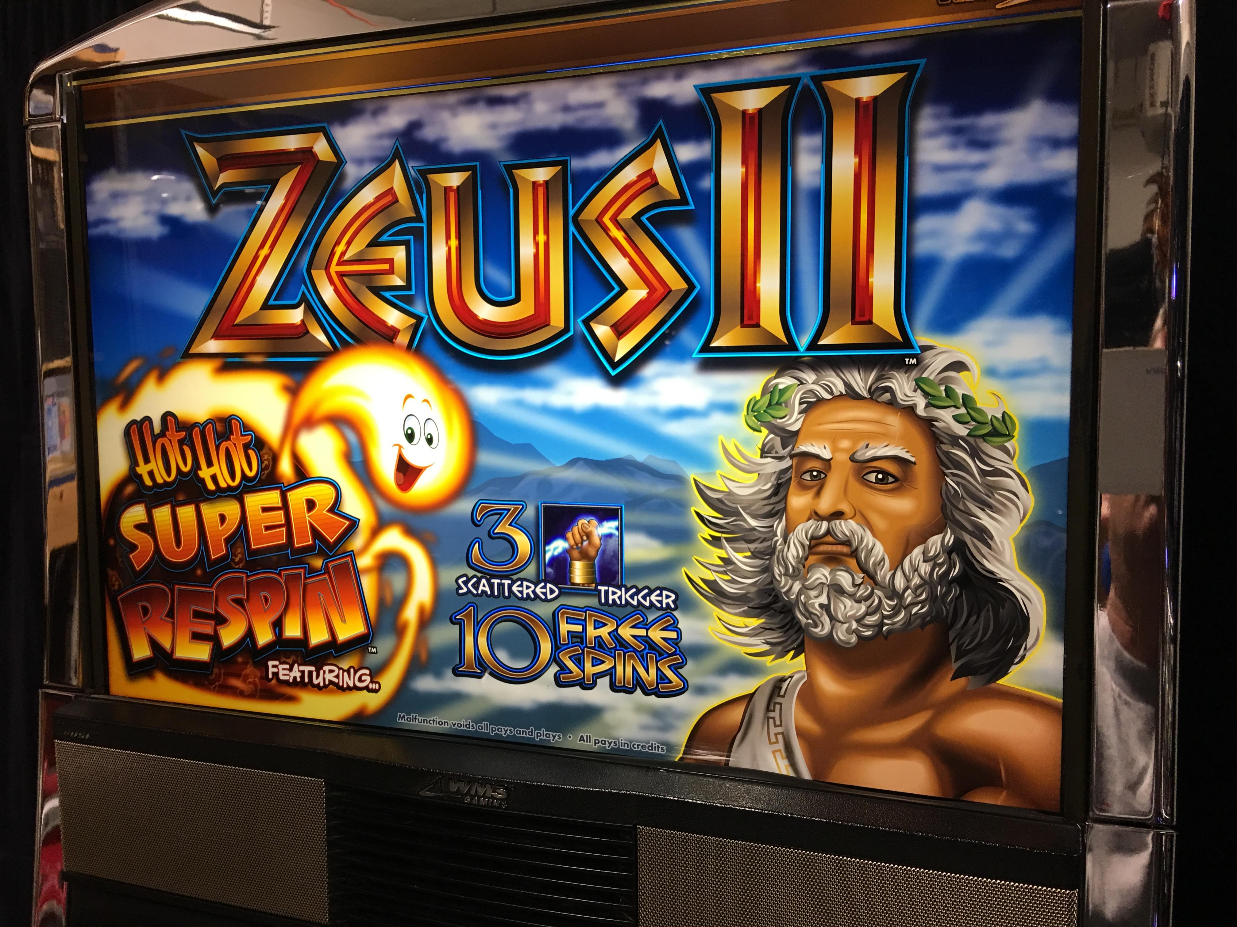 Zeus Ii Slot Machine Online